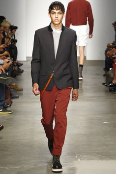 Yigal Azrouël Spring 2012 Menswear Fashion Show