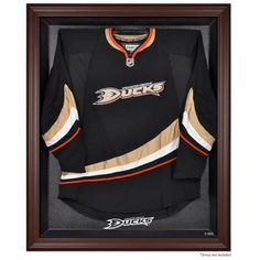 Anaheim Ducks Fanatics Authentic Brown Framed Logo Jersey Display Case - $199.99