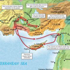 The Fisrt Missionary Journey Of Apostle PaulMark 1615 Go
