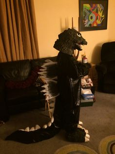 Godzilla costume for my son