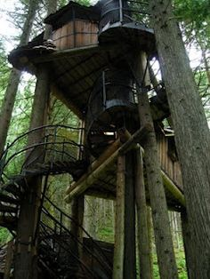 Pictures of Tree Houses and Play Houses From Around The World, Plans And Build Tips, Guides, Ideas and How To's
