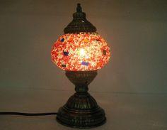 White Mosaic Table Lamp,glass Candle Holder,ottoman Bedsi...  Https://www.amazon.com/dp/B01GUTUIMY/refu003dcm_sw_r_pi_dp_XlMwxbQPM5AFA | Table  Lamps | Pinterest ...