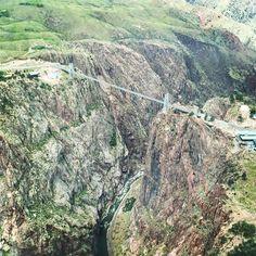 Over the Royal Gorge Bridge #royalgorge #colorado