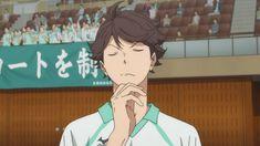 look at oikawa thinking and shit Oikawa Tooru, Iwaoi, Bokuaka, Maybe Tomorrow, Chapter 33, Volleyball Anime, In Another Life, Dear Lord, Haikyuu Anime