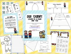 flat stanley stuff! very cute and organized to use for next year...