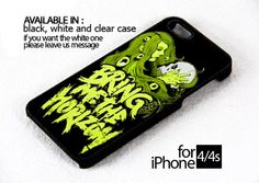 AJ 660 Bring Me The Horizon - iPhone 4/4s Case | FixCenter - Accessories on ArtFire