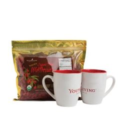 Great for Christmas!! 2015 Wolfberry Tea Gift Set Wolfberries are soo good for you! And the cups are cute too!