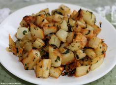 Cilantro and Garlic Potatoes   Real Lebanese Recipes