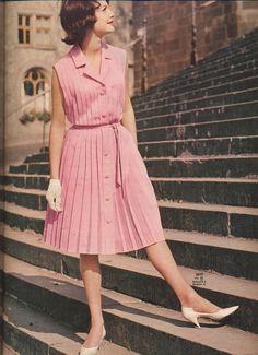 1963 Pink Dress