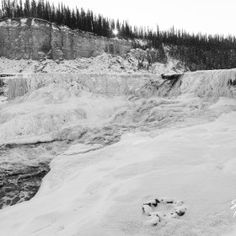 Cold and Rough, Louise Falls, Hay River, NWT