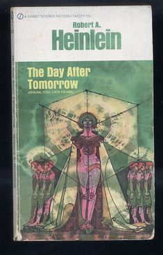 The Day After Tomorrow by Robert A. Heinlein Signet Paperback Science Fiction