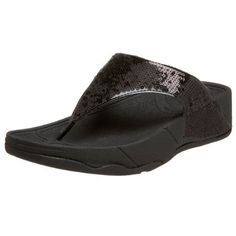 separation shoes 07f42 a85aa Amazon.com   FitFlop Electra Classic Sequin Flip-Flop Sandal   Flip-Flops.  Beach SandalsShoes SandalsFitness ...
