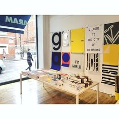 In Covent Garden this weekend? Drop in to the Playtype pop-up shop at @aramstorelondon by playtype
