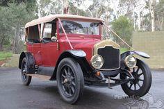 Rover Clegg 'colonial' 4 plazas Tourer 1913