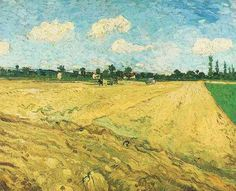 Friends of Vincent (@VanGoghADay)   Twitter  Ploughed Field September, 1888 Oil on canvas Amsterdam, Van Gogh Museum