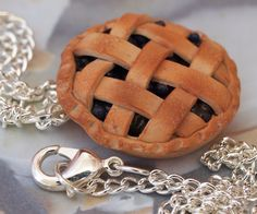 Blueberry Pie Necklace by ~DeliciousTrickery on deviantART