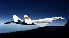 "North American Aviation XB-70 ""Valkyrie""."