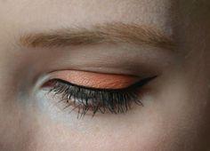 Make up look: Oranje oogschaduw | Inezzed