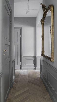 French Interior, Interior Door, Interior And Exterior, Estilo Tudor, Flur Design, Hallway Colours, Hallway Designs, Hallway Ideas, Quirky Home Decor