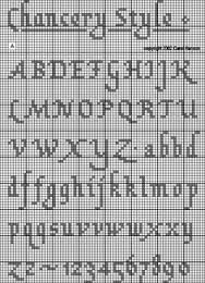 cross stitch alphabet patterns - Google Search