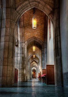 The Side Aisle of the University of Chicago.