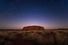 Uluru and stars