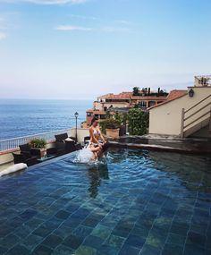 "Camilloush on Instagram: ""👧🏽❤️👧🏽👅🙆🏼☀️ #ASisterFromAnOtherMother #SoProudToBeYours #BestFriends #MedyPhotographe"" Bestfriends, Monaco, Royals, Villa, Instagram, Beat Friends, Best Freinds, Fork, Bff"