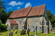 Elmstone Church in Kent, one of the few churches I know of that doesn't actually have a designated saint! Mosque, Art And Architecture, Worship, Cathedral, Around The Worlds, Cabin, House Styles, Buildings, Oc