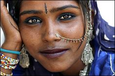 A gypsy girl   Pushkar, India