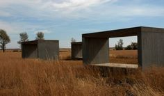 Looks like a project from my architecture school days! :D     concreate - marfa, texas