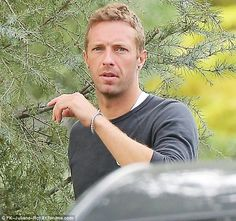 Recent return: The Coldplay frontman returned to Los Angeles this week after spending time...