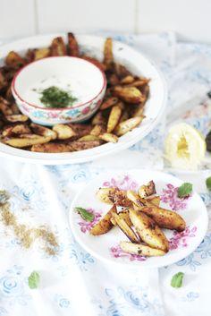 potatoes à la plancha