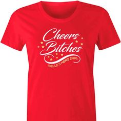 ae1d3a741 Cheers Bitches Personalised TShirt A fun and fabulous t shirt for the girls  to wear during · Hen Party ...