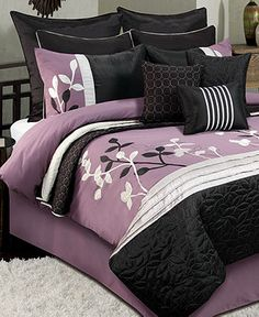 Isabella 12 Piece Comforter Sets - Bed in a Bag - Bed & Bath - Macy's