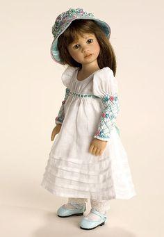 smocking for kaye wiggs doll | HP-Charlotta