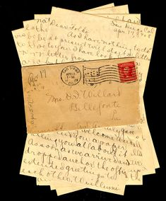 """The lost art of letter writing should come back. E-mails and texts are great when you have to send a quick message, but """"nothing, absolutely nothing beats a thick, creamy two pages of Crane paper, smothered with news and views, lovingly folded into a tissue-lined envelope."""" - Lindy Woodhead"""