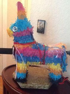 esta piñata se uso para la actividad en el hospital de Gainsville estaba llena de regalitos para los ninos.