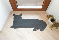Cat Rug!!!! My fur-baby is grey too!