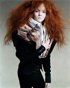 Vogue Italia, July 2003 _   Model: Lily Cole, Photographer: Steven Meisel
