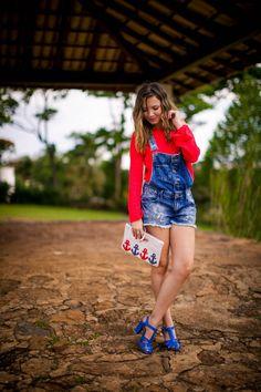 Taci Alcolea - Look: De jeans e arrumadinha!