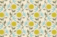 Thomas Paul Fabric: Dahlia/Aegean eclectic upholstery fabric