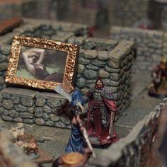 Kronos, Dwarven Forge, le donjon en 3D