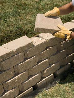 1000 Ideas About Retaining Wall Bricks On Pinterest