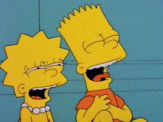si ahora sii Bart E Lisa, Bart And Lisa Simpson, Homer Simpson, Simpson Wallpaper Iphone, Cartoon Wallpaper, Iphone Wallpaper, Cartoon Icons, Cartoon Memes, Simpsons Drawings