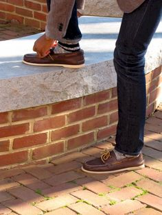 Simple and cool boat shoes outfit for mens 06 - Fashionetter