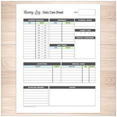 Preschool Registration Form Template  Teaching Ideas