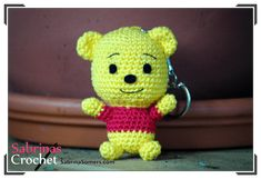 Winnie de Pooh - Patron gratis - Amigurumi
