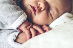 Sleeping babies are just the cutest