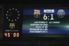 FC Barcelona 6 - 1 PSG. 8th March 2017