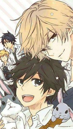 Hitorijime My Hero Cute Anime Boy, Anime Love, Anime Guys, Comic Anime, Manga Anime, Manhwa, Lgbt Anime, 1366x768 Wallpaper, Hero Wallpaper